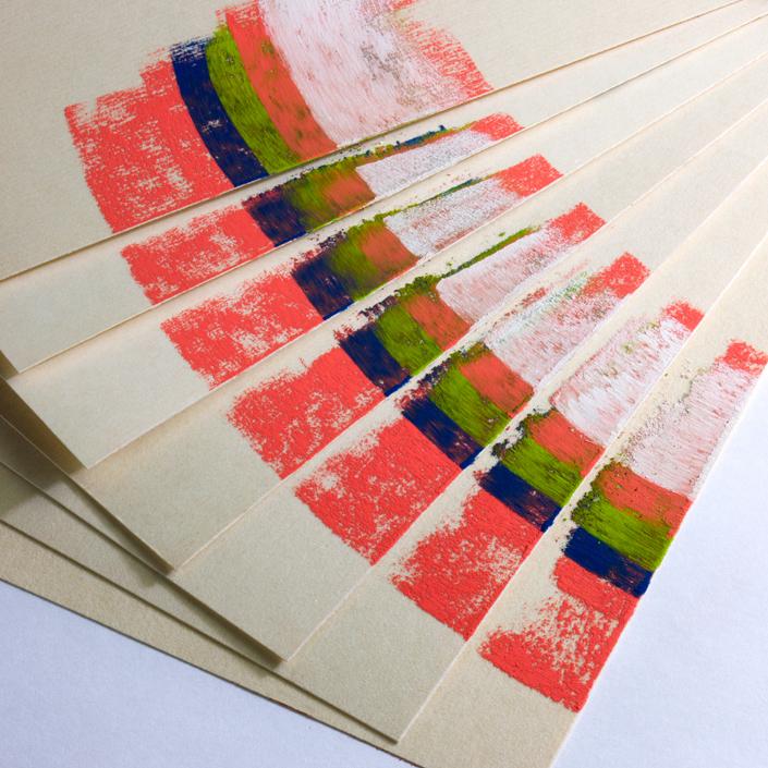 uart premium sanded pastel paper for pastel watercolor pencil