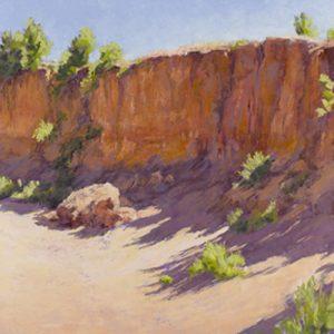 Arroyo-wall-with-shadows-Lee-McVey