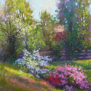 julia_lesnichy-azaleas_in_the_morning_light