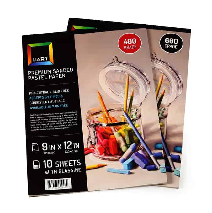 UART Premium Pastel Paper Pads